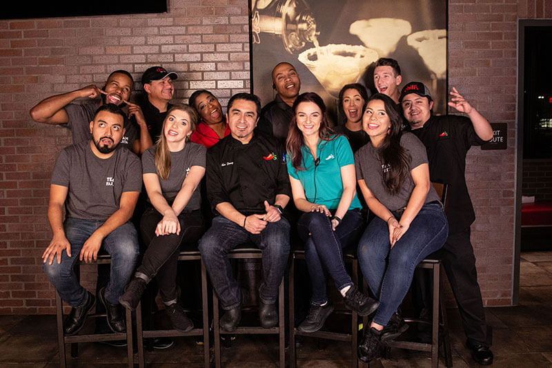 Chili's employee group photo